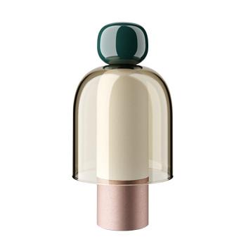 Studio Italia Design Easy Peasy, Kelp (grün / honigfarben / roségold gebürstet)