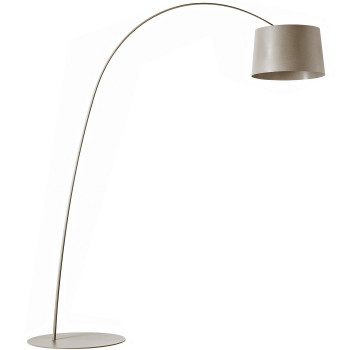 Foscarini Twiggy Terra R1 LED, grey beige, with additional arm piece