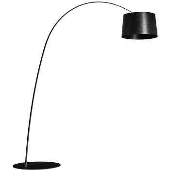 Foscarini Twiggy Terra R1 MyLight, schwarz, ohne zusätzliches Armteil