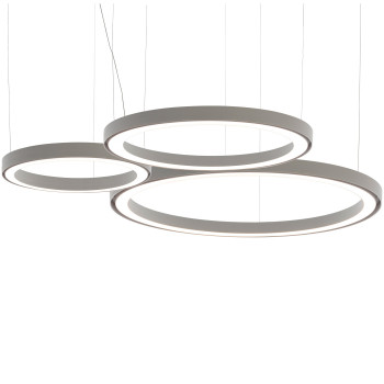 Artemide Ripple Cluster 3 Suspension, weiß