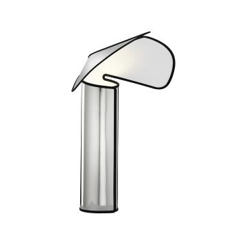Flos Chiara T, aluminium / anthracite edge