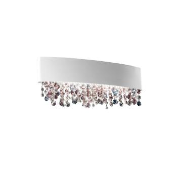 Masiero Ola A2 OV 50 LED, weiß matt, kühle Glasvariante