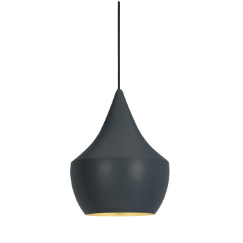 Tom Dixon Beat Fat LED, black (schwarz)