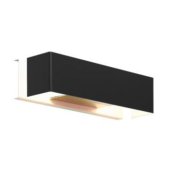 Mawa Design Tegel 2-4, pulverbeschichtet schwarz matt (RAL 9005)