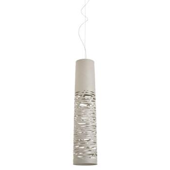 Foscarini Tress Piccola Sospensione, weiß, Kabelsonderlänge 10 m