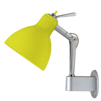 Rotaliana Luxy W0, Struktur silbern, Schirm gelb glänzend