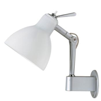 Rotaliana Luxy W0, Struktur silbern, Schirm weiß glänzend