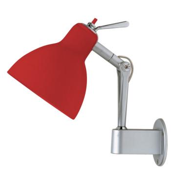 Rotaliana Luxy W0, Struktur silbern, Schirm rot glänzend