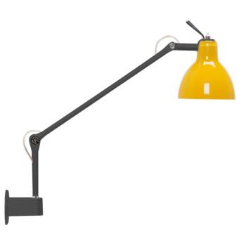 Rotaliana Luxy W1, Struktur schwarz matt, Schirm gelb glänzend