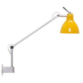 Rotaliana Luxy W1, Struktur silbern, Schirm gelb glänzend