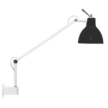 Rotaliana Luxy W1, Struktur weiß glänzend, Schirm schwarz glänzend