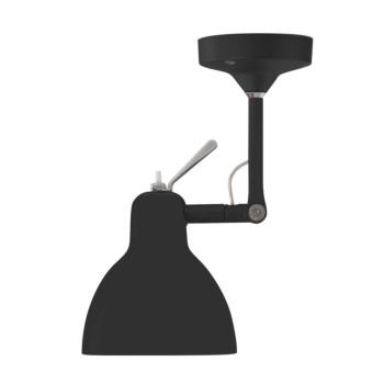 Rotaliana Luxy H0, Struktur schwarz matt, Schirm schwarz glänzend