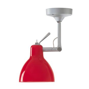 Rotaliana Luxy H0, Struktur silbern, Schirm rot glänzend