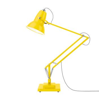 Anglepoise Original 1227™ Giant Stehleuchte, gelb glänzend mit schwarzem Kabel