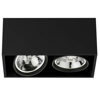 Flos Compass Box Large 2L QR111, schwarz