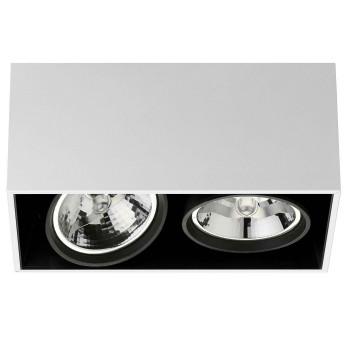 Flos Compass Box Large 2L QR111, weiß