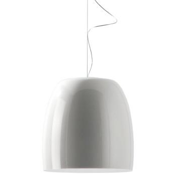 Prandina Notte Metal S7, außen glänzend weiß, innen weiß