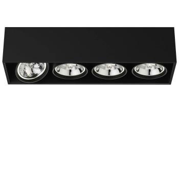 Flos Compass Box Large 4L QR111, schwarz