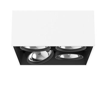 Flos Compass Box Large 4L Square QR111, weiß