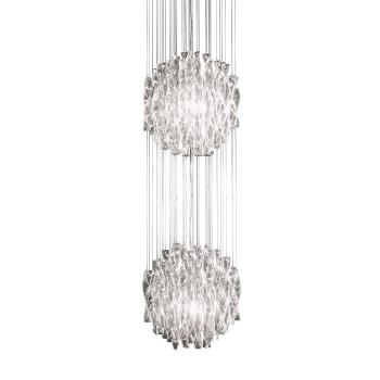 Axo Light Aura SP 60/2, Stahl glänzend - weiß