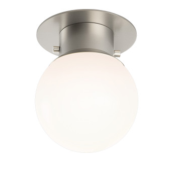 Decor Walther Globe 20 Ceiling Light, nickel satined