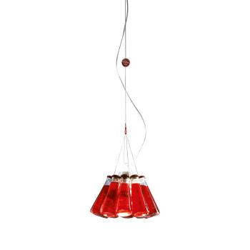 Ingo Maurer Campari Light, für Raumhöhe bis zu 3 m, Gesamtlänge max. 150 cm