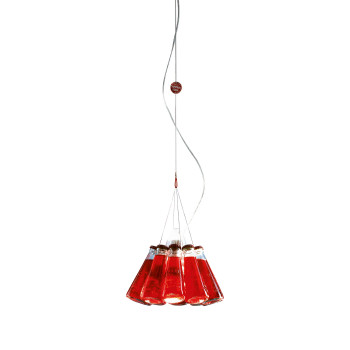 Ingo Maurer Campari Light, für Raumhöhe bis zu 5,5 m, Gesamtlänge max. 400 cm