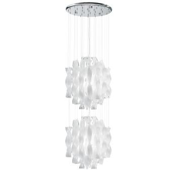 Axo Light Aura SP 45/2, Stahl glänzend - weiß