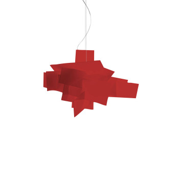 Foscarini Big Bang Sospensione, rot