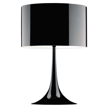 Flos Spun Light T1, schwarz glänzend