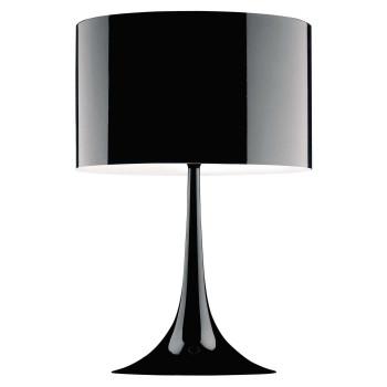 Flos Spun Light T2, schwarz glänzend