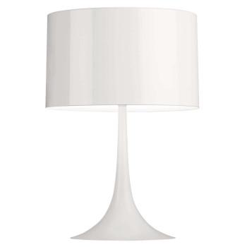 Flos Spun Light T2, weiß glänzend
